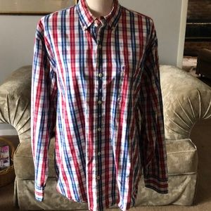 Nice multi- color Men's button down.